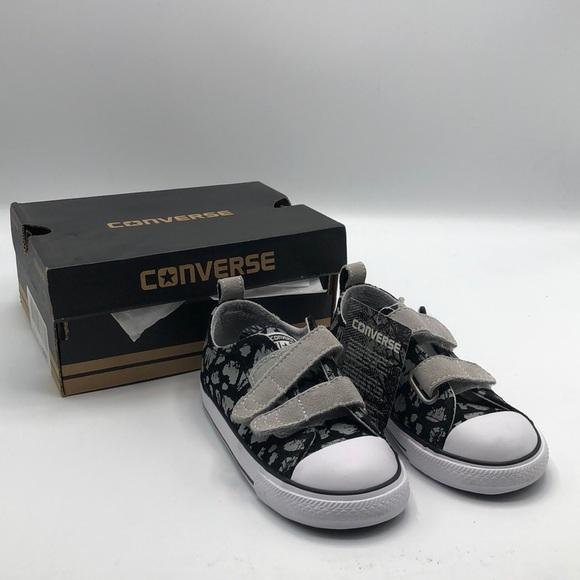 Converse Shoes | Infant Blacksilver